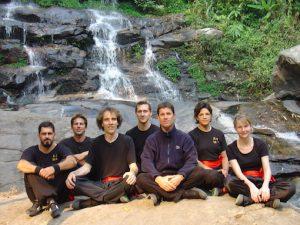 Kung Fu Seminar Thailand 2005